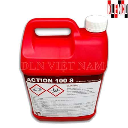 Hóa chất tẩy rửa xi măng Klenco Action 100S