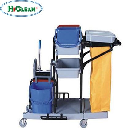 Xe đẩy dọn phòng khách sạn HiClean HC 173