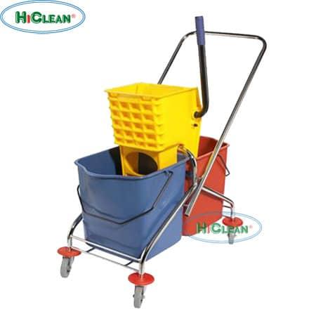 Xe đẩy vắt nước 2 xô HiClean HC 071