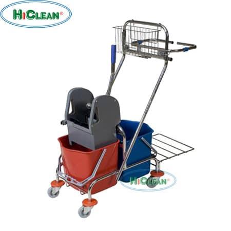 Xe đẩy vắt nước 2 xô HiClean HC 087