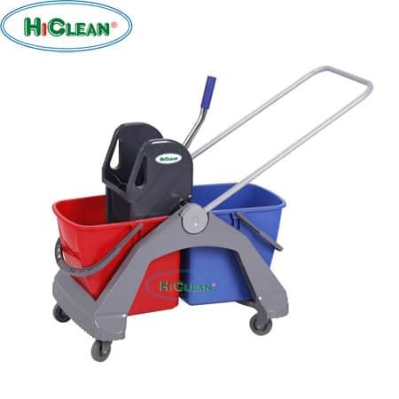 Xe đẩy vắt nước 2 xô HiClean HC 092