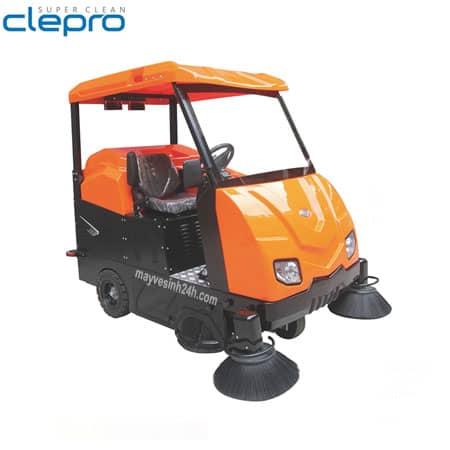 Xe quét rác ngồi lái Clepro CWR 206